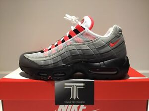purchase cheap 45dec de740 Image is loading Nike-Air-Max-95-OG-Solar-Red-AT2865-