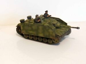 28mm-Bolt-Action-Chain-Of-Command-German-STUG-With-Crew-Painted-amp-Weathered-6
