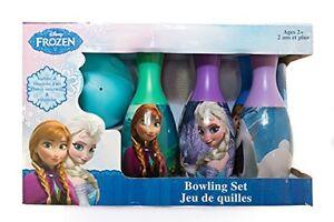 Disney Frozen Elsa Anna Toddler Bowling Toy Set Preschool Indoor Outdoor 7pc New