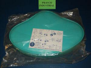 Vinyl Casting Seat for Fishing Boat Aqua Blue