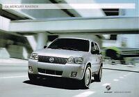 2006 Mercury Mariner Brochure With Color Chart : Premier, Luxury........nos