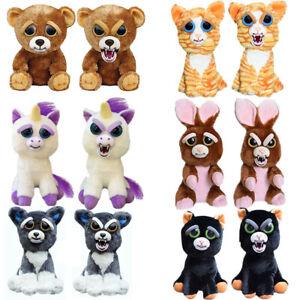 Original Feisty Pets Stuffed Scary Face Animal Plüschtiere Attitude Weihnachtsge