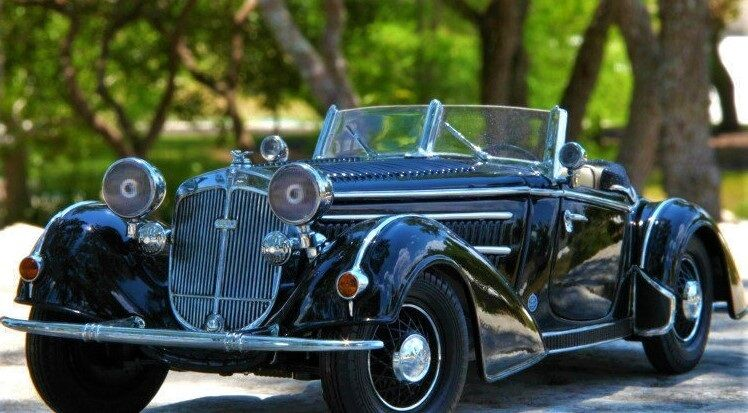 a precios asequibles 1 Sport Coche Coche Coche Vintage concepto 24 Cadillac 18 Cocherusel Negro 43 1930s 12  tienda de pescado para la venta