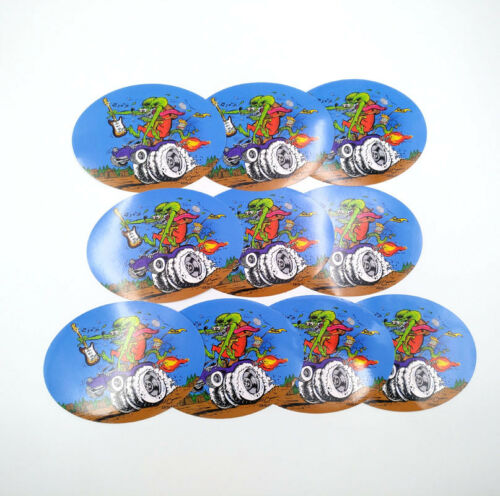 Rat Fink Ed Roth Vintage Vinyl Decal Big Daddy Hot Rod  39 Styles Car Stickers