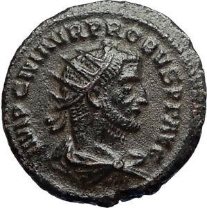 PROBUS-w-Jupiter-Authentic-Ancient-Original-276AD-Antioch-Roman-Coin-i67238