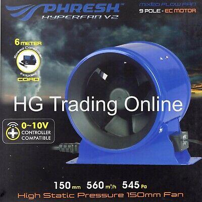 Digital Fan Controller For Phresh Hyper Fans Hydroponic Grow Room