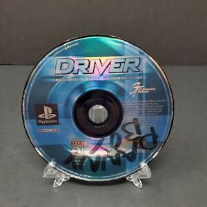 Driver (Sony PlayStation 1, 1999) PS1 Game Disc Only Tested Driving Retro