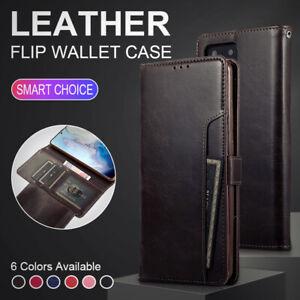 Custodia-a-Portafoglio-in-Pelle-Libro-per-Apple-iPhone-11-8-7-6-X-XR-Cover-Flip