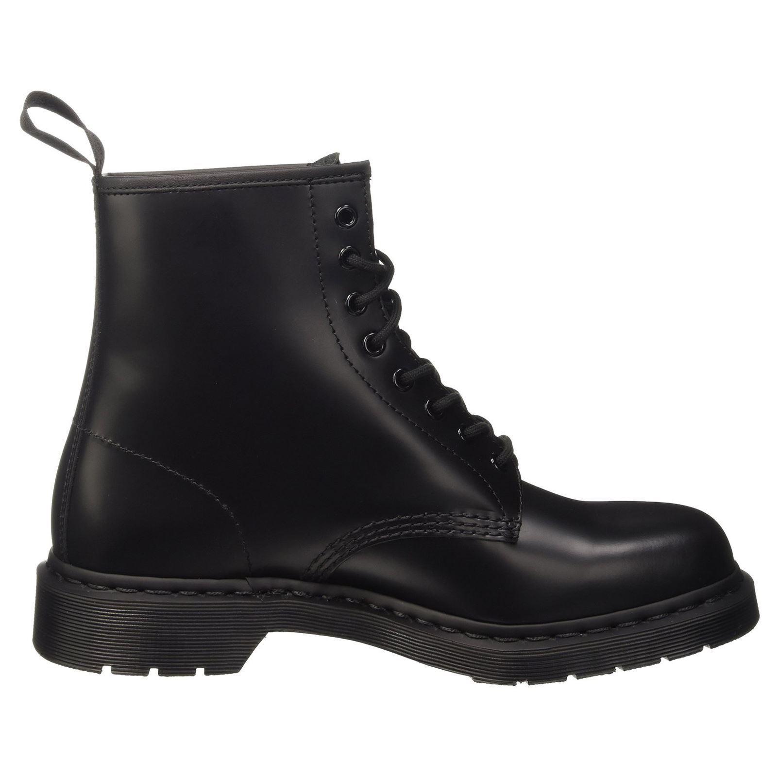 Dr. Martens 1460 8 Ojal Mono botas De Hombre Mujer Mujer Mujer Unisex Negro Liso  conveniente