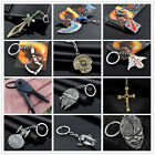Creative 41 Styles Anime Fans Double Side Logo Metal Keychain Keyring Jewelry