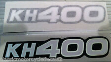 KAWASAKI KH400 SIDE PANEL DECALS
