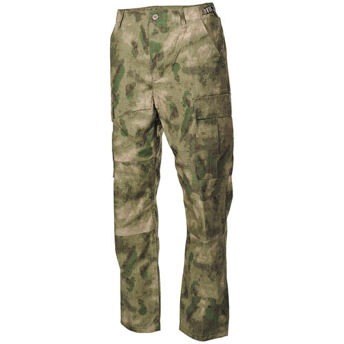MFH Tactical BDU Combat Trousers Mens Hunting Cargo Ripstop Pants HDT Camo FG