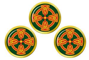 Croix-Celtique-Chretien-Marqueurs-de-Balles-de-Golf