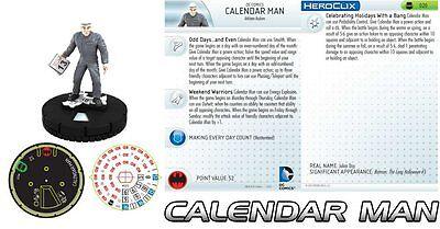 U heroclix Streets of Gotham #020 Calendar Man