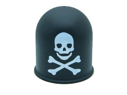 Capucha del aplicador oral enganche remolque tapa cráneo trike quad Skull calavera negro