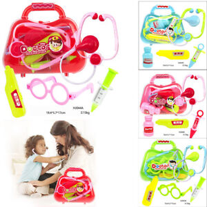 Kids-Childrens-Role-Play-Doctor-Nurses-Toy-Medical-Set-Kit-Gift-Hard-Carry-Case