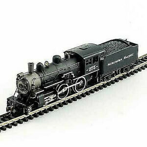 MODEL-POWER-876291-N-SCALE-Northern-Pacific-4-4-0-American-w-DCC-SOUND-NEW