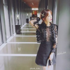 Lydia-Lace-Puff-Sleeves-Noble-Black-Dress