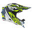 thumbnail 2 - Oneal Motocross Helmet 2 Series Neon Yellow Blue MX Helmet Dirt Bike Off Road