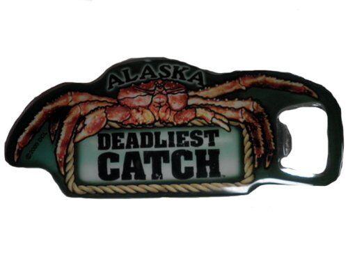 deadly catch Deadliest Catch show Alaska Deadliest Catch bottle opener