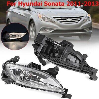 Passenger Side Fog Light Cover For Hyundai Sonata 2011-2013 New Front