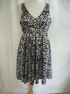 Ladies-Dress-ICHI-size-M-animal-print-bust-34-034-waist-30-034-length-37-034-2480