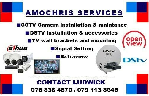 Dstv  installations, sales and accessories