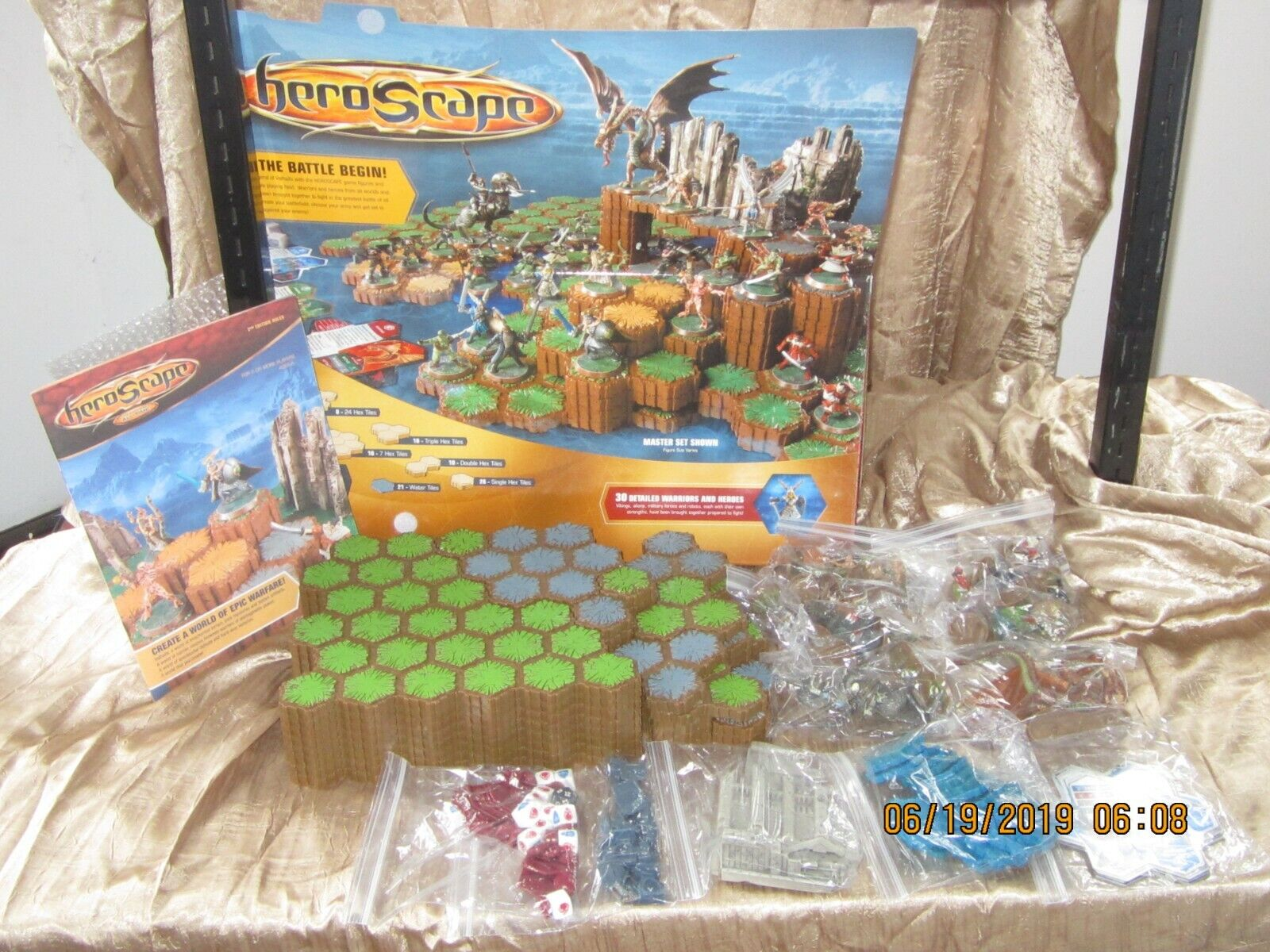 HEROSCAPE THE BATTLE OF ALL TIME MASTER SET RISE OF THE VALKYRIE COMP TABLE GAME