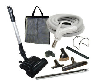 Beam Nutone 30/' or 35/' Deluxe Central Vacuum Kit w//Hose Power Head /& Wand