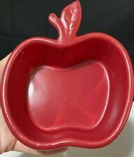 "D07 NEW Old Stock Chantal Apple Dish 1 Cup Green 4 1//2/"" 93-AP12 Baking Crock"
