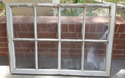 VINTAGE SASH ANTIQUE WOOD WINDOW PICTURE FRAME PINTEREST 40x28 RUSTIC DISTRESSED