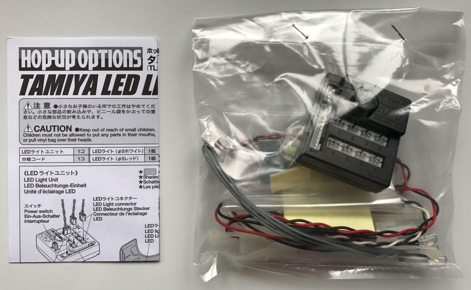 TAMIYA 53909 LED Luce Unità TLU-01 Nuovo con imballo