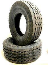 Two 11l 16 10 Ply F3 Backhoe Front Tire 11lx16 Backhoe Heavy Duty