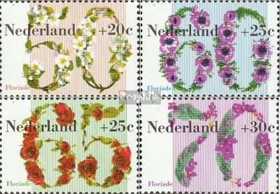 complete Issue Netherlands 1203-1206 Unmounted Mint Never Hinged 1982 Floria
