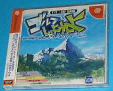 Golf Shiyouyo - The Golf Game - Sega Dreamcast DC - JAP Japan JP