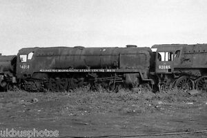 Image is loading British-Rail-34058-amp-92085-Barry-Scrapyard-South-
