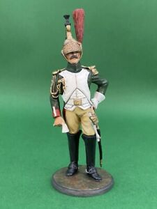 French-Imperial-Guard-Dragoons-Officer-90mm-Studio-Painted-Military-Figure-M23