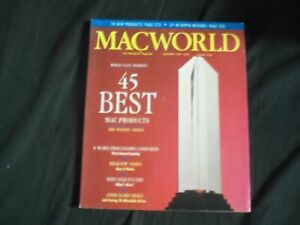 1989 September Macworld Magazine Macintosh 45 Best Mac Products Pb 1261e Ebay