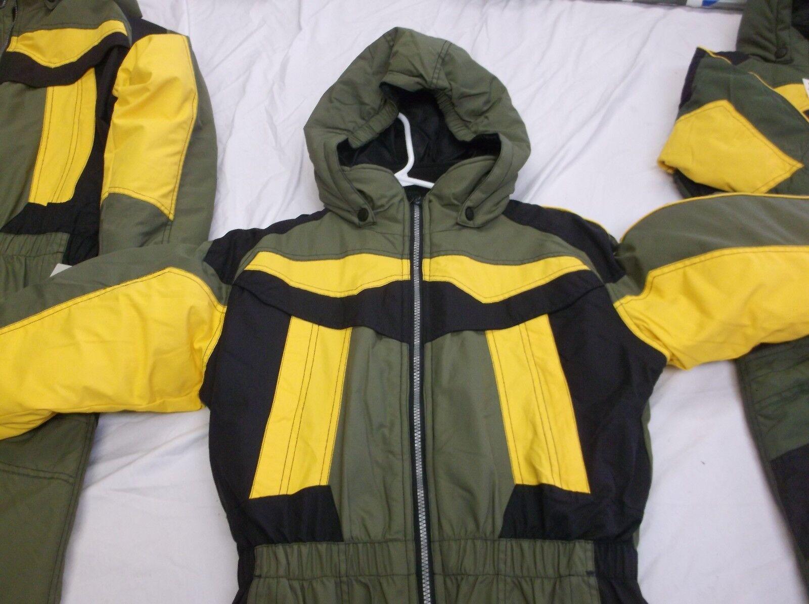 KIDS WINTER SUIT, Snow Sportcaster Suit, ONE PIECE, Sportcaster Snow Suit Medium Größe. SNOWMOBILE 593cb4