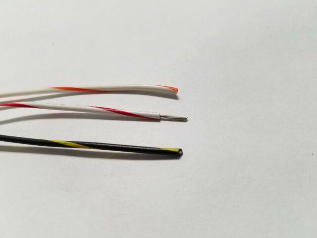 50 ft UL1007 300v 25 24 AWG Gauge Stranded Hook Up Wire 10 colors 10