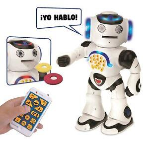 Robot éducatif Lexibook Powerman pour apprendre à jouer, blanc (rob50es) ...