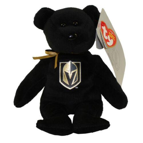 LAS VEGAS USA SELLER NEW 2018 NHL HOCKEY GOLDEN KNIGHT TY BEANIE BABY TEDDY BEAR