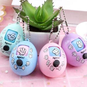 Family-Games-Keychain-Rock-Paper-Scissors-Play-Toy-Egg-Key-Ring-Car-Bag-PendB3C