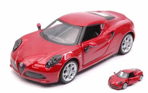 Alfa Romeo 4c Metallic Red 1:32 Model 43100G BBURAGO