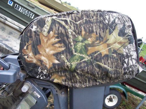 AMERICAN MADE Yamaha 15HP 4 Stroke Motor Cover Camo or Black Custom Fitted