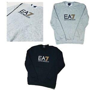 EMPORIO-ARMANI-EA7-Logo-Felpa-Uomo-OFFERTA-DI-NATALE