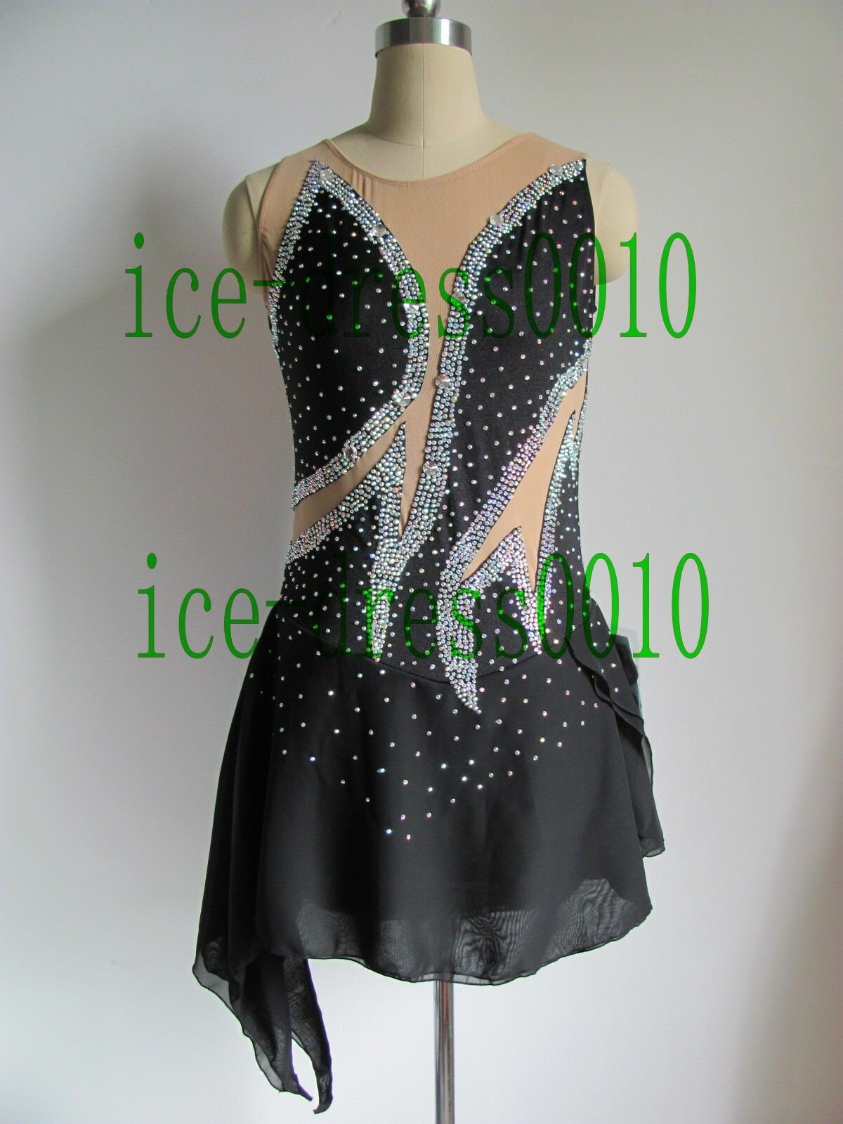 2018 new style Figure Skating Ice Skating Dress Gymnastics Costume 113-15