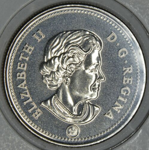 CANADA 50 CENTS 2013 Logo in MS