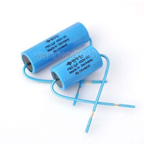 2PCS 3.3uF 400V Audio Speaker Frequency Divider Crossover Non-Polarity Capacitor
