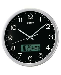 Seiko Wall Clock With Quiet Sweep Second Hand Qxl007a New